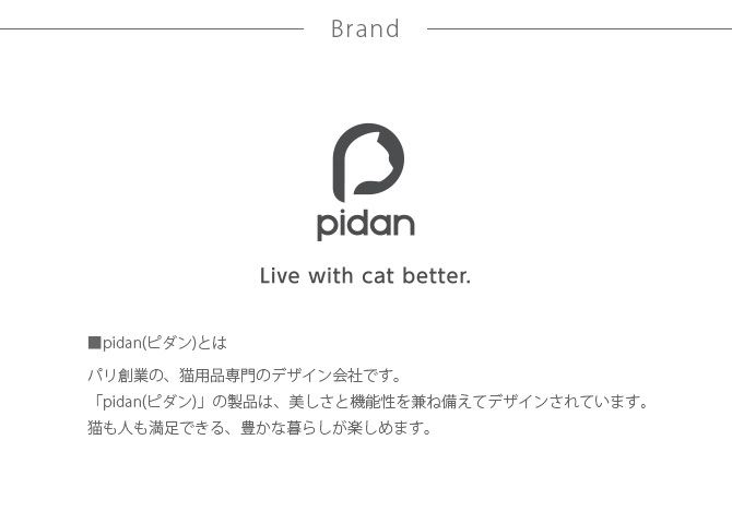 pidan ピダン コーム 方向調整機能付き