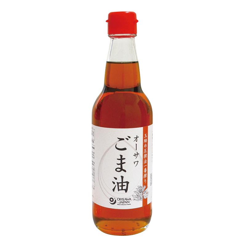 オーサワごま油 ビン 330g