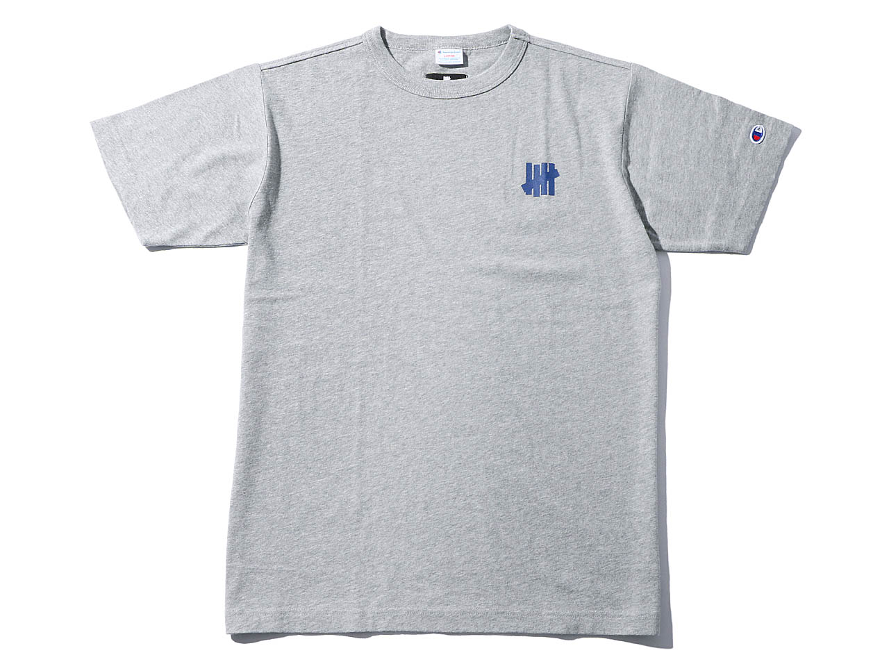 【SALE】UNDEFEATED CHAMPION CHEST ICON SS TEE - GRAY