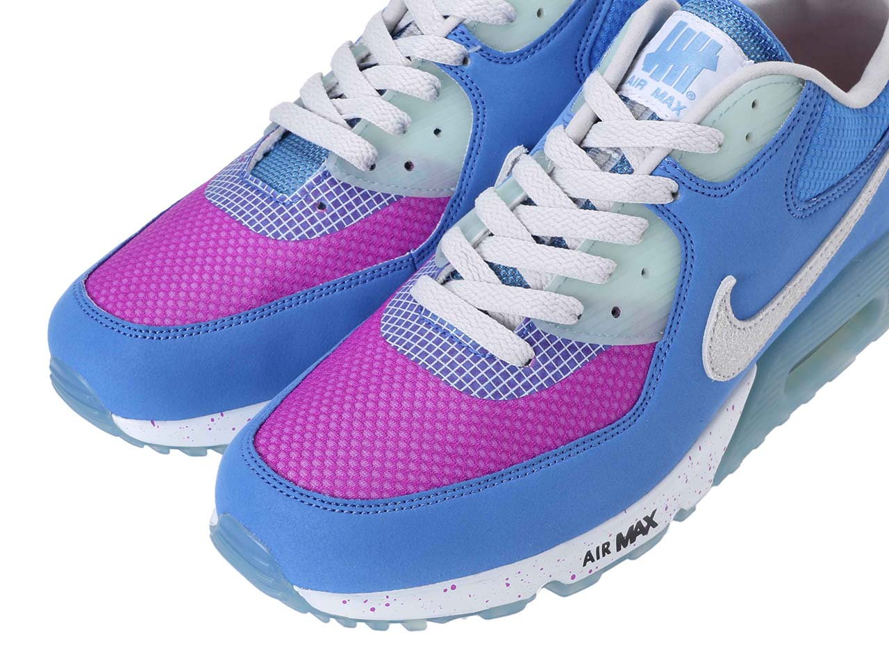 【20%OFF】UNDEFEATED × NIKE AIR MAX 90  - BLUE/PURPLE