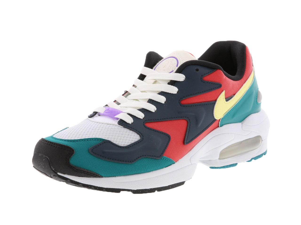 【SALE】NIKE AIR MAX2 LIGHT SP - HABANERO RED/ARMORY NAVY-RADIANT EMERALD-SAIL-LEMON CHIFFON