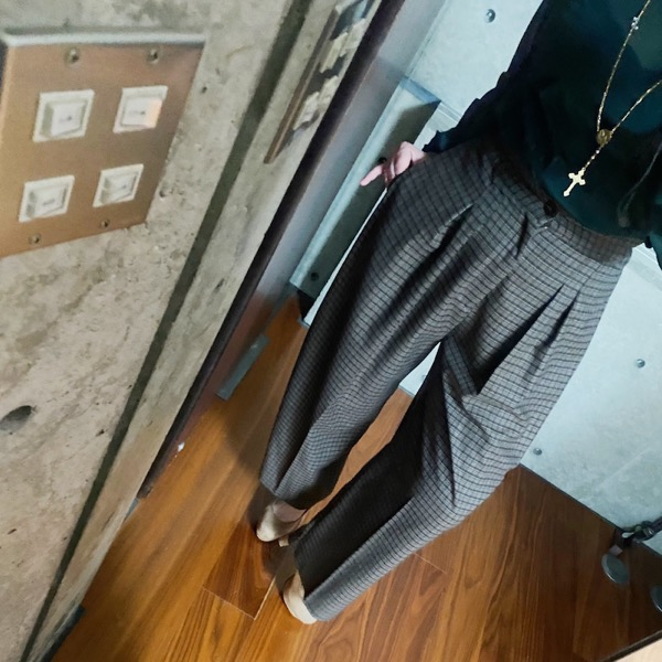 CHIGNON(シニヨン)/マルチタックワイドパンツ