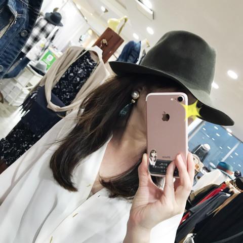 HAT&DREAMS/フェルト中折れHAT