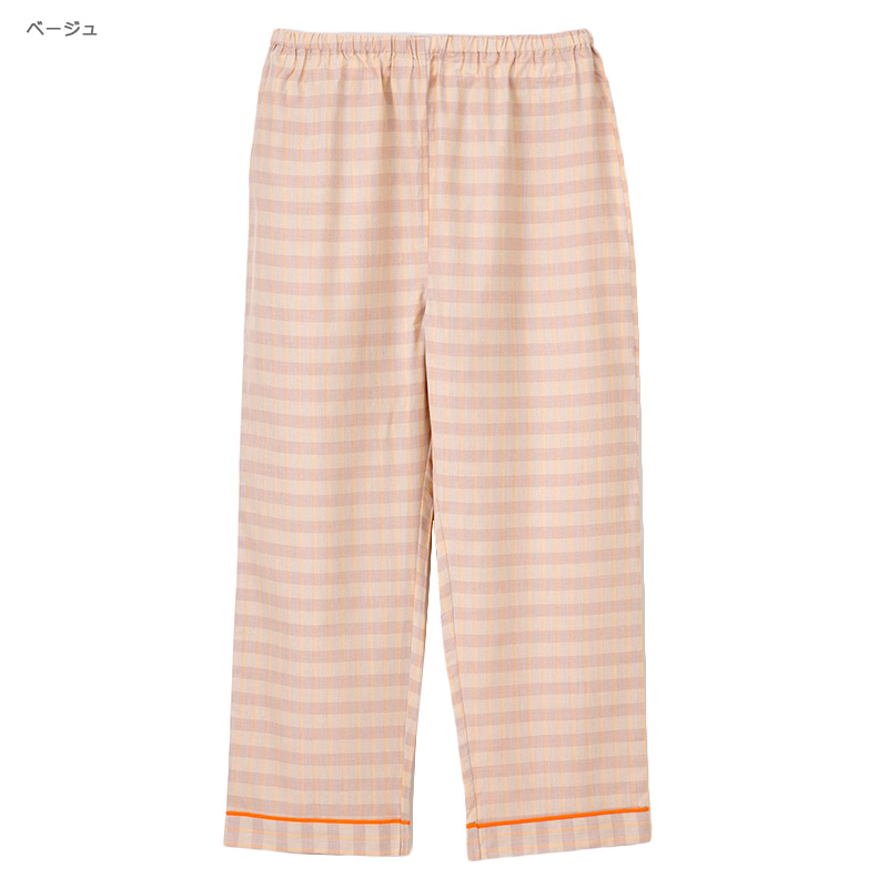 患者衣(パンツ) [男女兼用] LG-1473