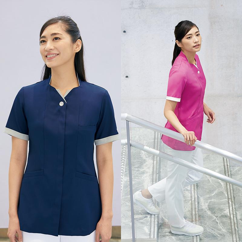 ナースジャケット 半袖[女性用] PP302
