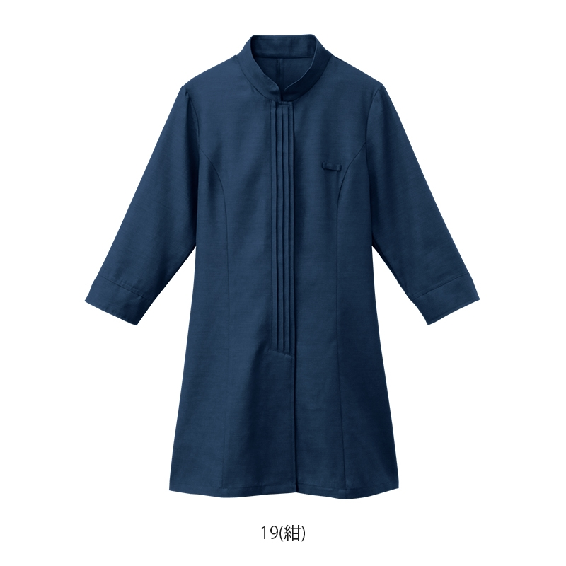 マオカラーシャツ【女性用】 24231