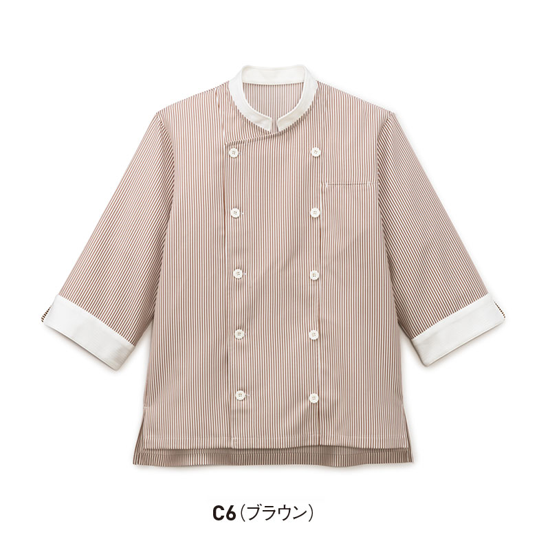 ショップコート 七分袖 [男女兼用]  SJAU-2007