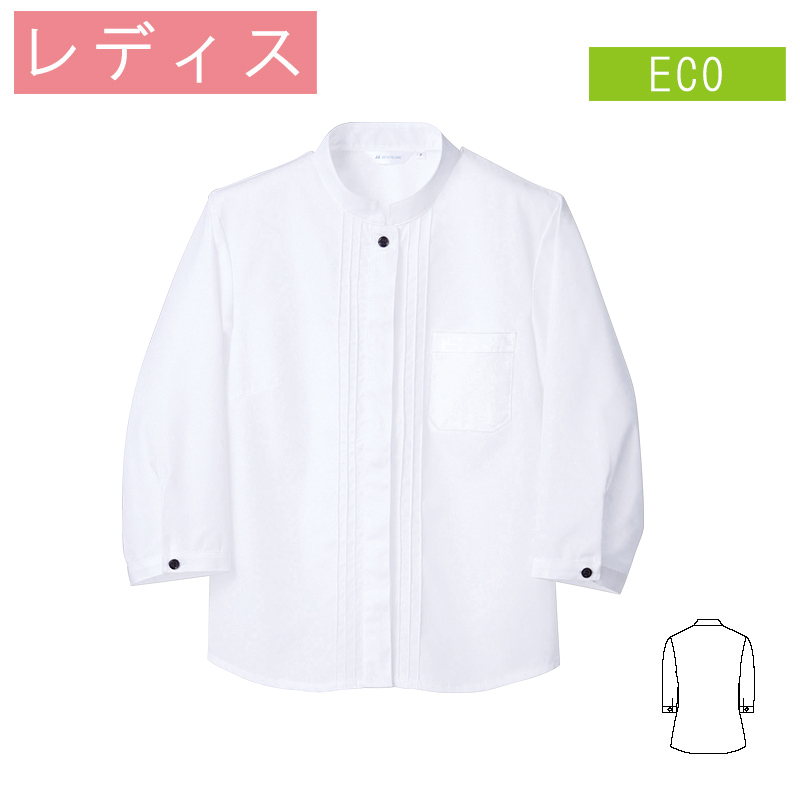 シャツ 七分袖 [女性用] PS2141 MONTBLANC モンブラン