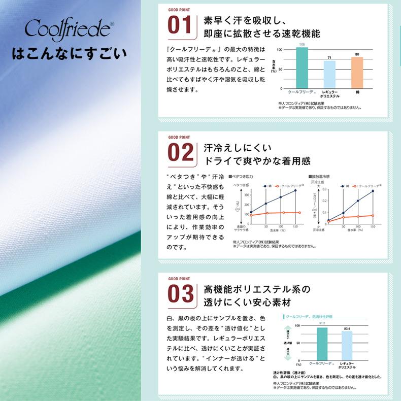 高温作業場向け 長袖 ジャンパー/工務服 [男女兼用] HACCP ハサップ CD-394