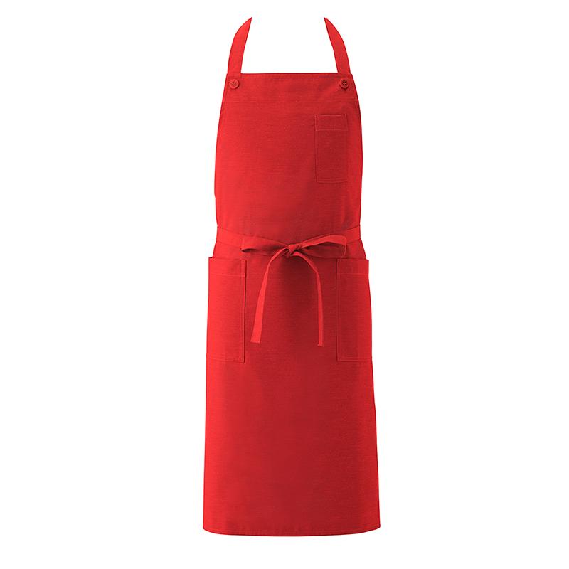 【1枚までネコポス発送】【8色】カラーが選べる 首掛け型 胸当てエプロン [男女兼用] KI750 撥水 制電
