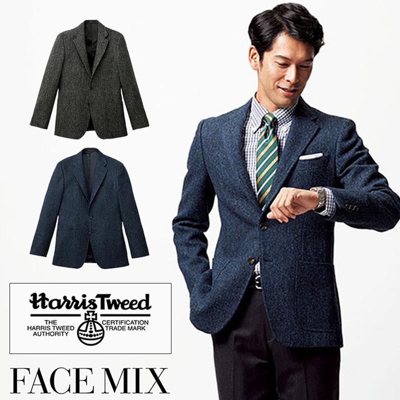 ハリスツイードジャケット メンズ [男性用] 77-FJ0024M FACE MIX/フェイスミックス