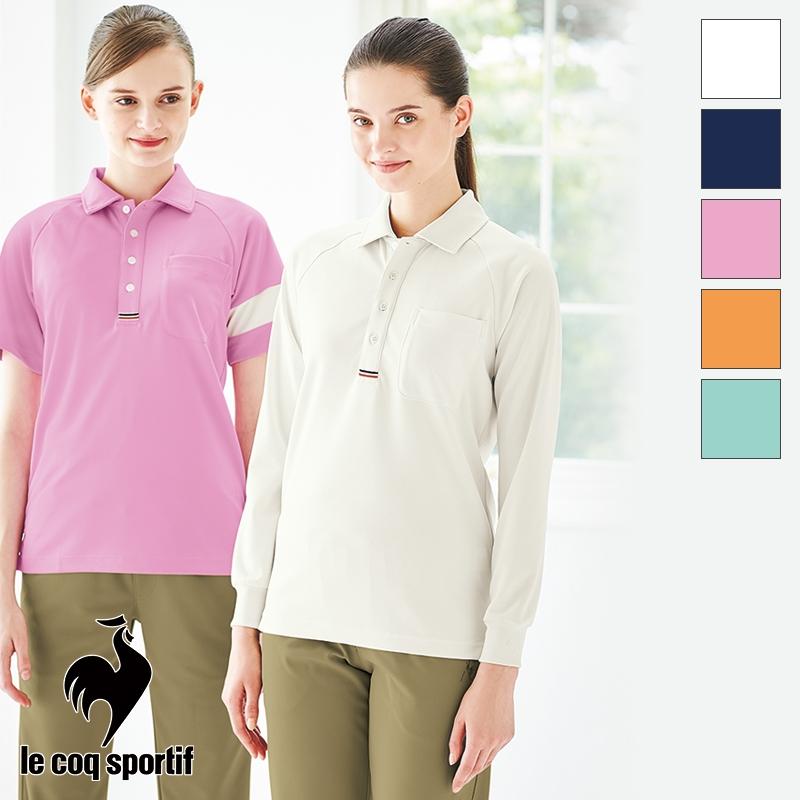【返品不可】 長袖ニットシャツ [男女兼用] UZL3053 ルコック