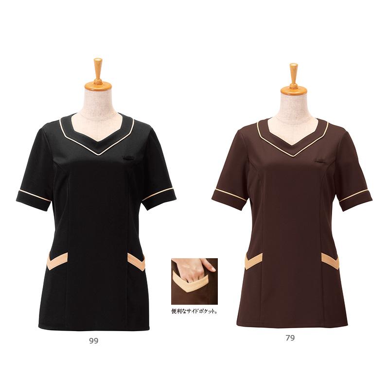 ニットワッフルシャツ [女性用] 00105