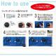 【 空調服 パワーファンスターターキット付き 】半袖 ブルゾン・一式セット [男女兼用] XE98022-SET 大容量バッテリー 急速アダプター ファン付き XEBEC ジーベック [返品・交換不可]