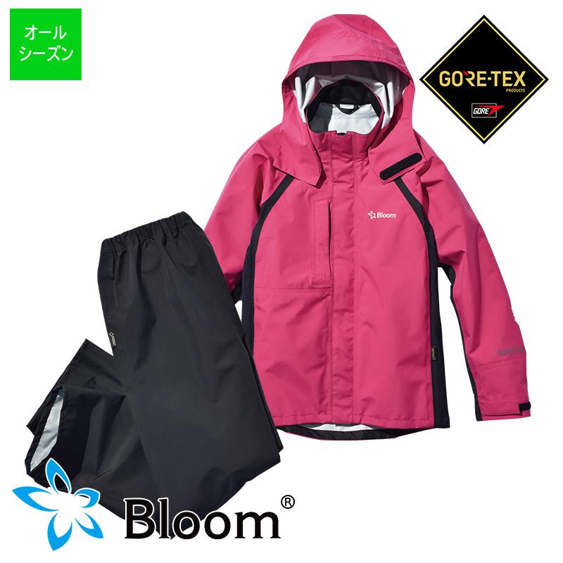 Bloomウェア(ジャケット・パンツのセット) マゼンタ (T-BLOOM-SET_MAG) Bloom ブルーム GORE-TEX