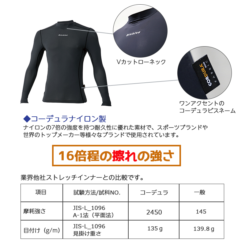 CORDURA長袖通年用[男性用] D-718
