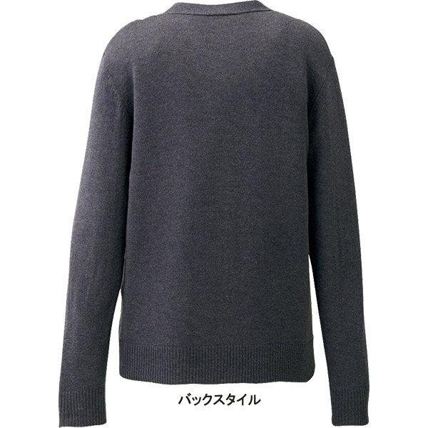 【安心丈ゆったりサイズ】事務服 カーディガン EWG723 エンジョイ