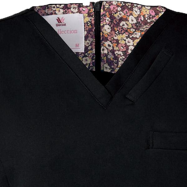 ワコールHIコレクション 女性用スクラブ白衣 HI700 ネオα フォーク