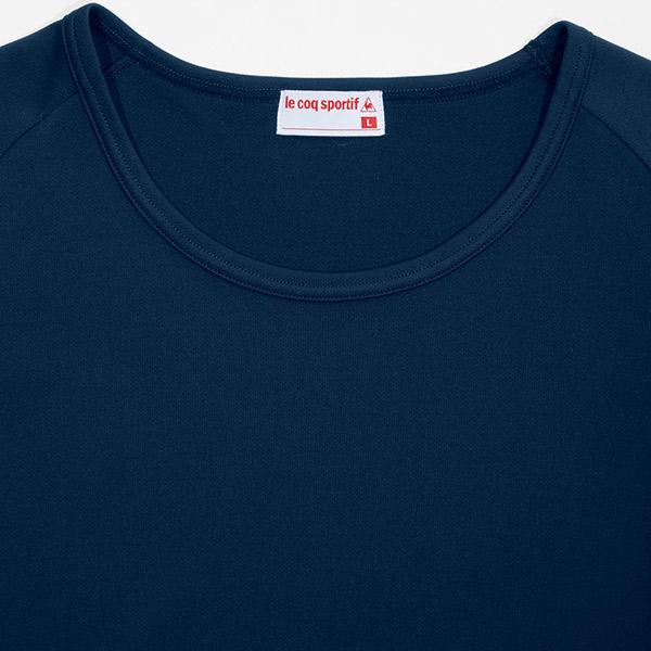ナースウェア 白衣 男性 女性 ユニセックスインナーTシャツ UQM8006 ドライミニメッシュ ルコックスポルティフ
