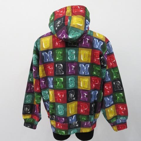 Supreme 20aw Blocks Hooded Sweatshirt シュプリーム パーカー 柳丸【中古】 ya210220-1
