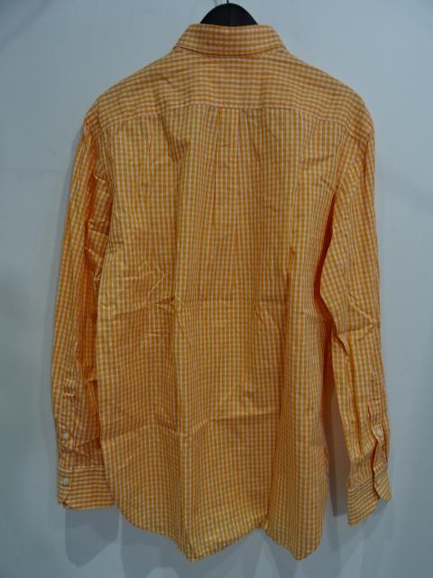 LUIGI BORRELLI ルイジ ボレッリ L/S B.D ギンガムチェックシャツ Size-40 GINGAM CHECK SHIRTブランド古着【中古】
