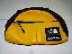 SUPREME シュプリーム 17aw xTHE NORTH FACE Leather Roo 2 Lumbar Pack ノースフェイス レザー ショルダー ボディ バッグ BAG BLACK YELLOW ブラック イエロー