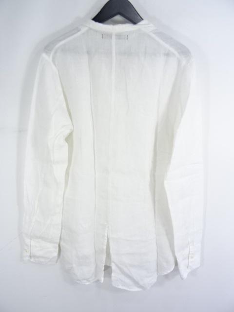HONOR GATHERING L/S OPEN COLLAR LINEN SHIRT オナー ギャザリング オープンカラー シャツ 大名店【中古】