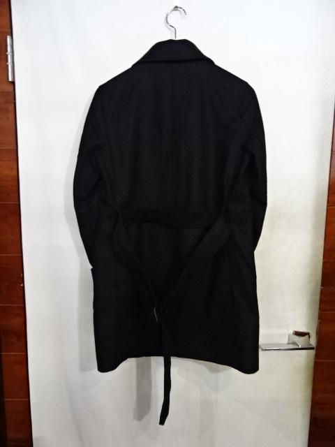 """TRADITIONAL WEATHER トラディショナル ウェザーウェア """"WOOL TRENCH JACKET"""" Size-34 ウール トレンチ コート ジャケット 黒 BLACK ブラック 大名"""