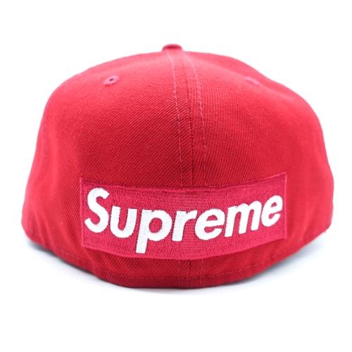 Supreme 21ss Reverse Box Logo New Era シュプリーム ニューエラ リバース ボックスロゴ キャップ 大名店【中古】