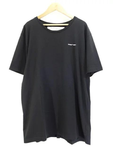 OFF-WHITE c/o VIRGIL ABLOH 19ss LOGO PRINT TEE BLACK Size-XXL 心斎橋