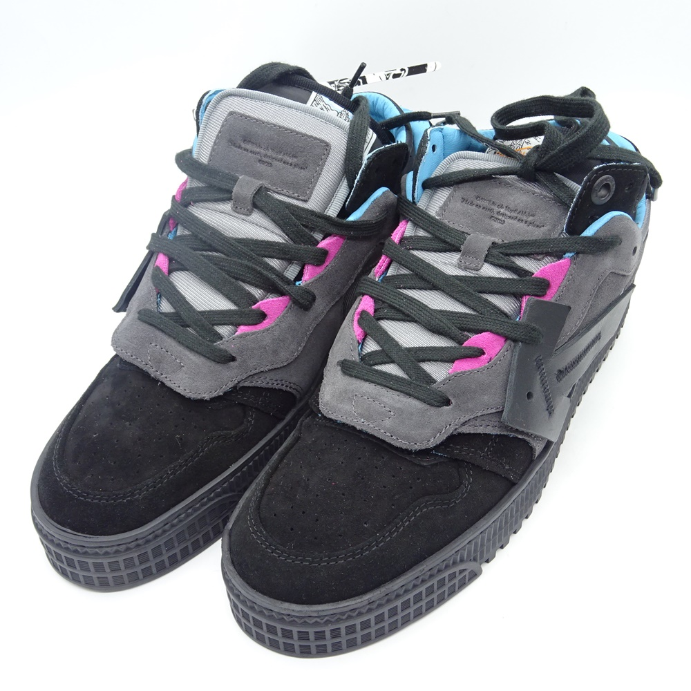 OFF-WHITE 20aw OFF COURT LOW SNEAKERS OMIA151F20LEA001 オフホワイト スニーカー 大名店【中古】
