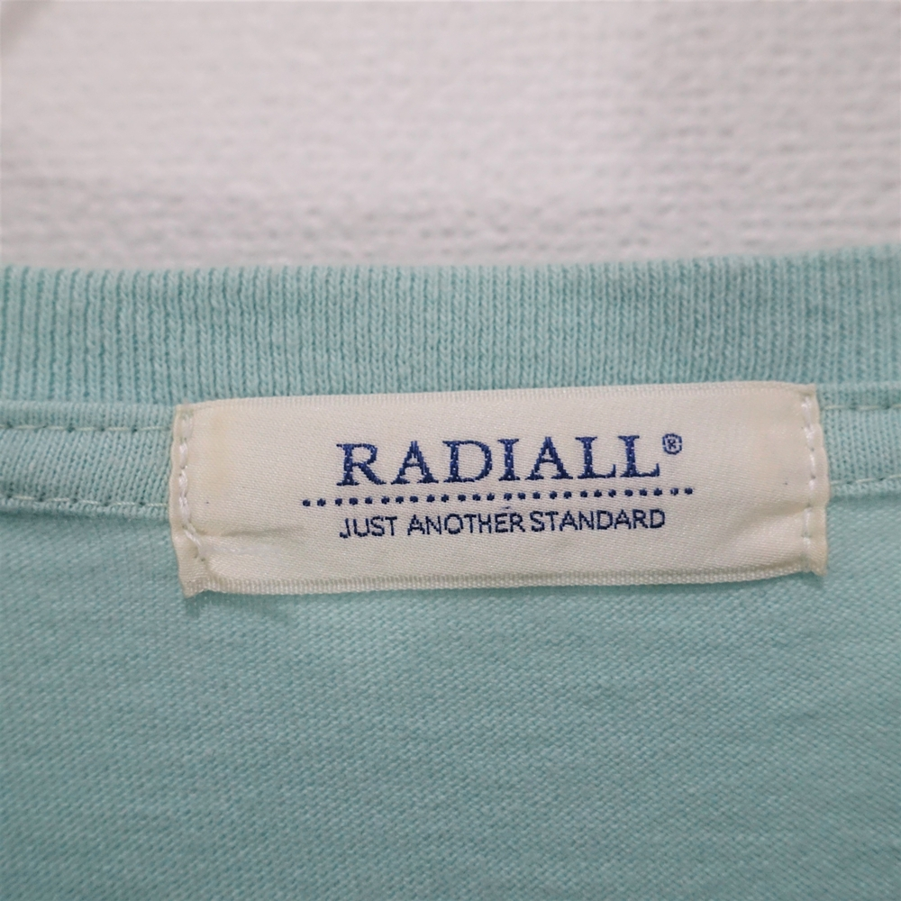 """RADIALL ラディアル18ss """"CREW NECK T-SHIRT L/S"""" Size-M /"""
