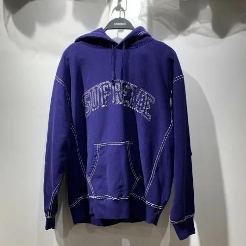 SUPREME 20aw Big Stitch Hooded Sweatshirt Lサイズ シュプリーム ビッグスティッチパーカー 心斎橋