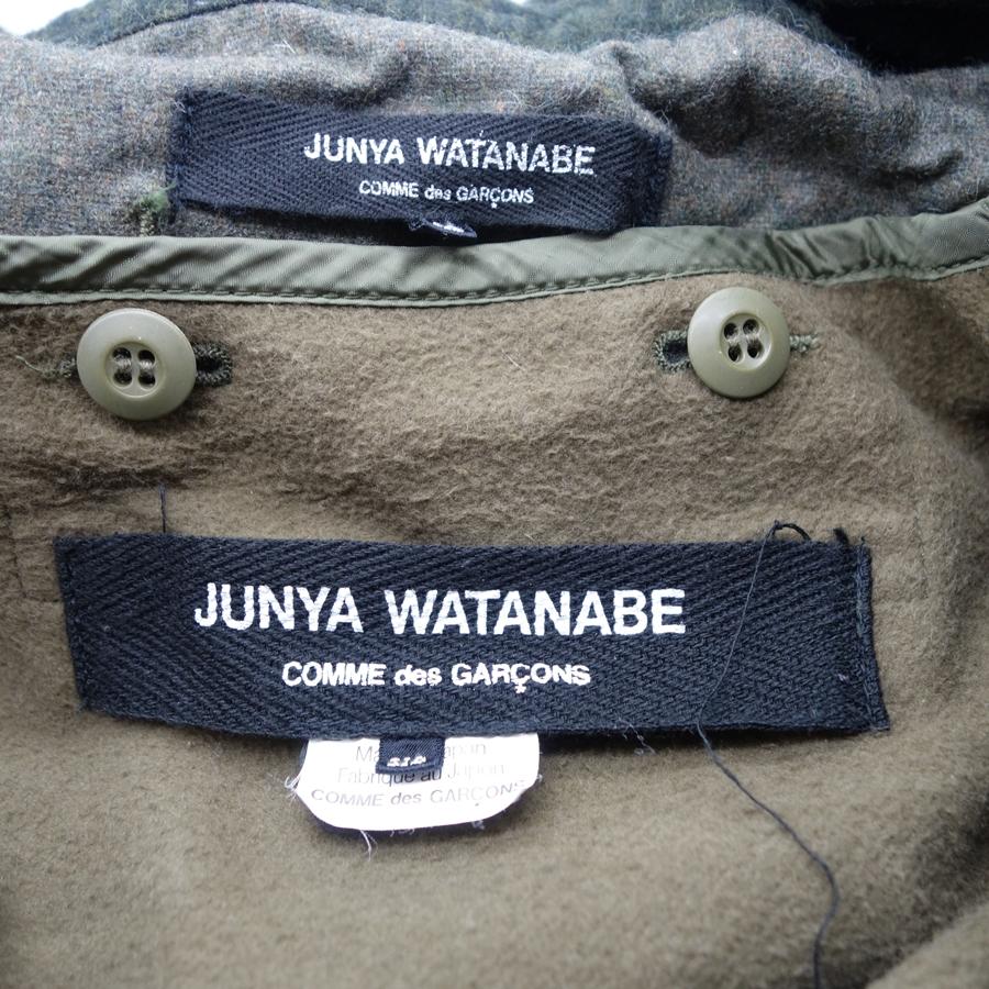 JUNYA WATANABE 10aw MODS COAT ジュンヤワタナベ モッズコート Size-XS 大名店【中古】