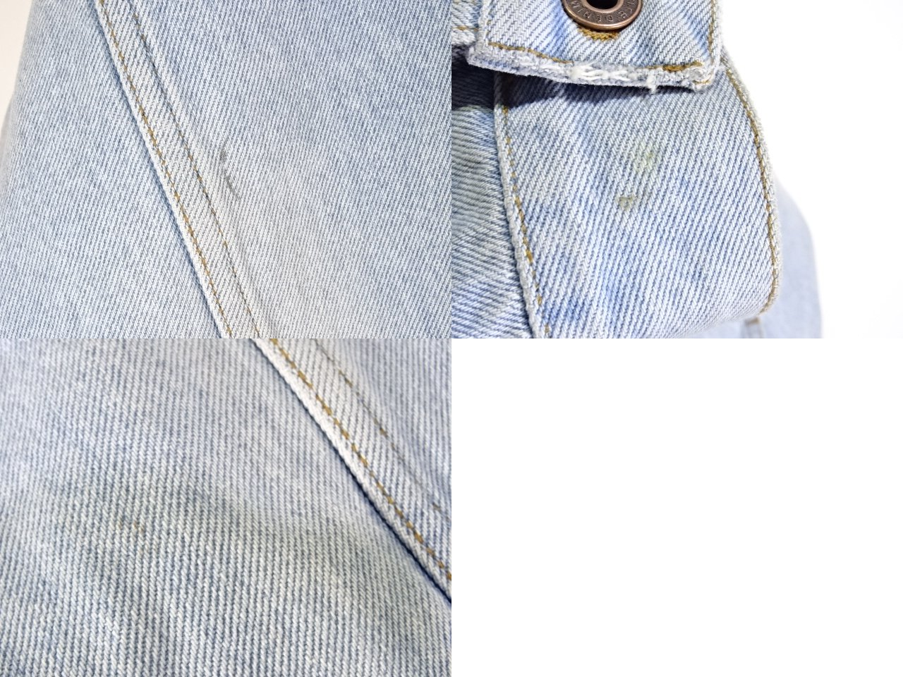 OFF-WHITE 17ss WOMAN DENIM OVER JACKET サイズXS オフホワイト デニムジャケット トラッカー 大名店【中古】