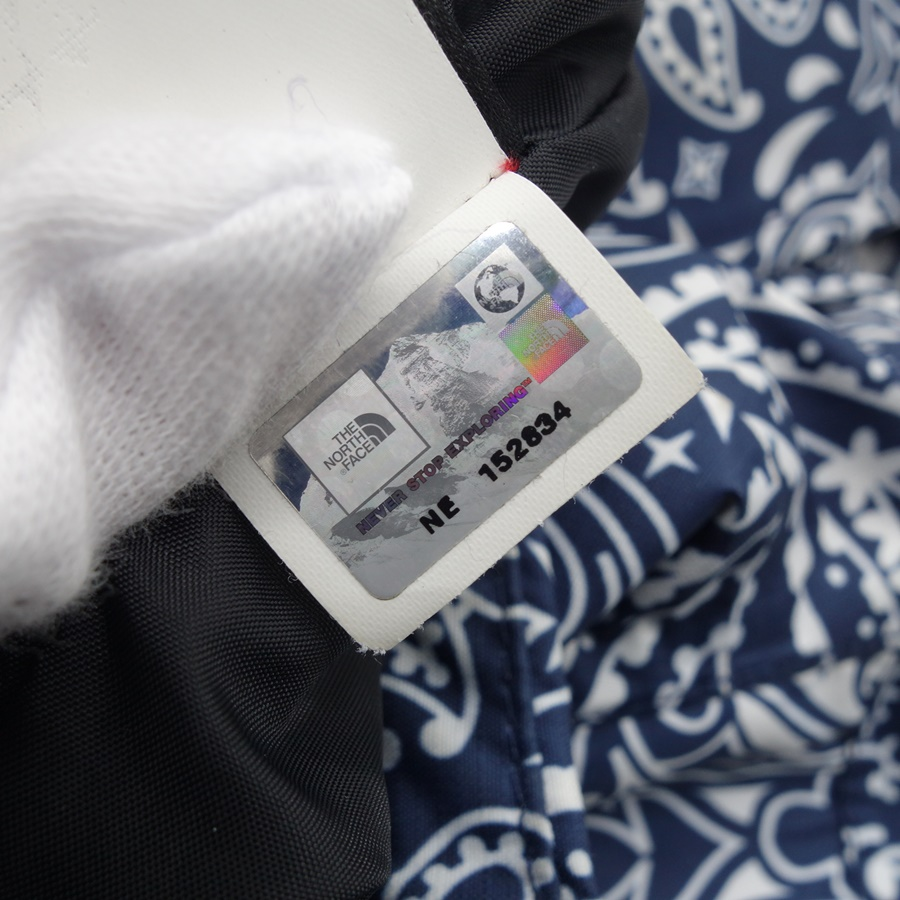 SUPREME 14aw ×THE NORTH FACE BANDANA MOUNTAIN PARKA JACKET size-L 大名店【中古】
