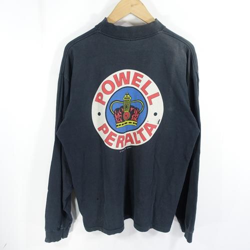 POWELL 90s SUPREME L/S TEE パウエル シュプリーム ロング スリーブ Tシャツ 大名店【中古】