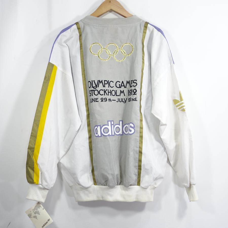 ADIDAS 80s STOCKHOLM OLYMPIC SWEAT アディダス ストックホルム オリンピック スウェット 大名店【中古】