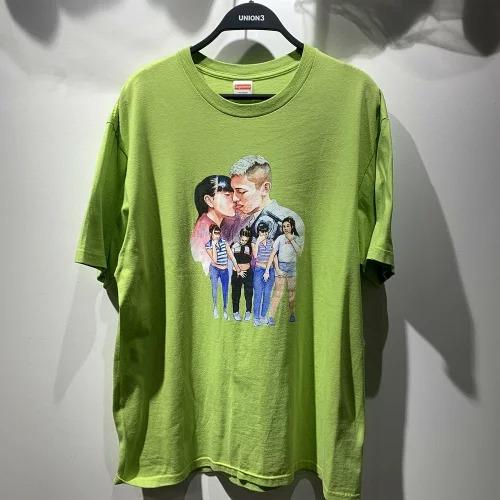 Supreme 17aw Kiss Tee Lサイズ シュプリーム キス ガール プリント Tシャツ 心斎橋