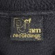 VINTAGE Def Jam 90s EMBROIDERY TEE ヴィンテージ デフジャム Tシャツ 黒 ブラック 大名店 【中古】