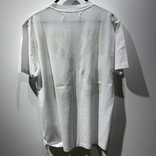 OFF-WHITE 20aw BLURRED MONALISA SLIM S/S TEE M オフホワイト モナリザ半袖Tシャツ ホワイト 心斎橋