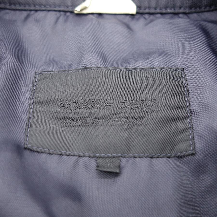 COMME DES GARCONS HOMME DEUX 20ss ポリエステル縮絨 ステンカラーコート Size-M 大名店【中古】
