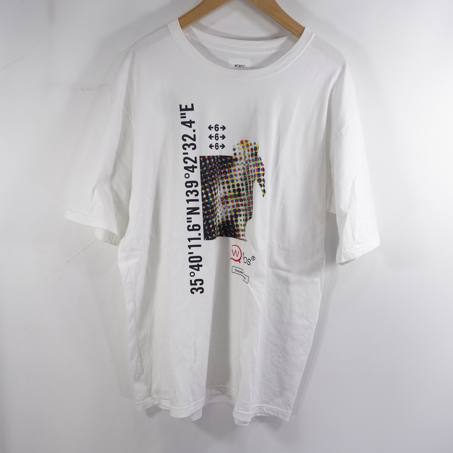 WTAPS 20ss DCLXVI TEE WHITE ダブルタップス プリント Tシャツ ホワイト Size-5 大名店【中古】