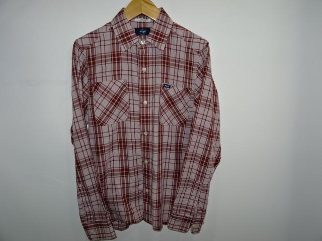 """WTAPS ダブルタップス""""UNION L/S 2 Pocket チェックシャツ"""" サイズ-S  シャツブランド古着/自社【中古】"""