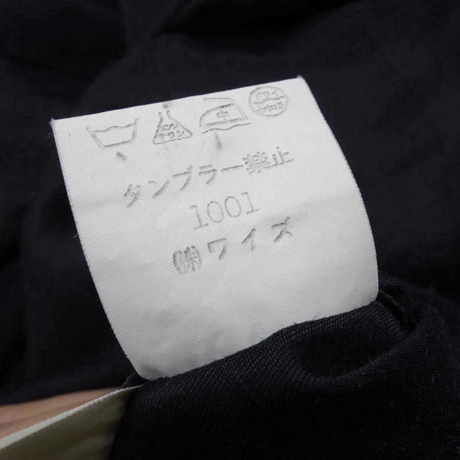 Y's NO COLLAR RAYON LINEN SHIRT ワイズ ノーカラー レーヨン リネン シャツ  大名店【中古】