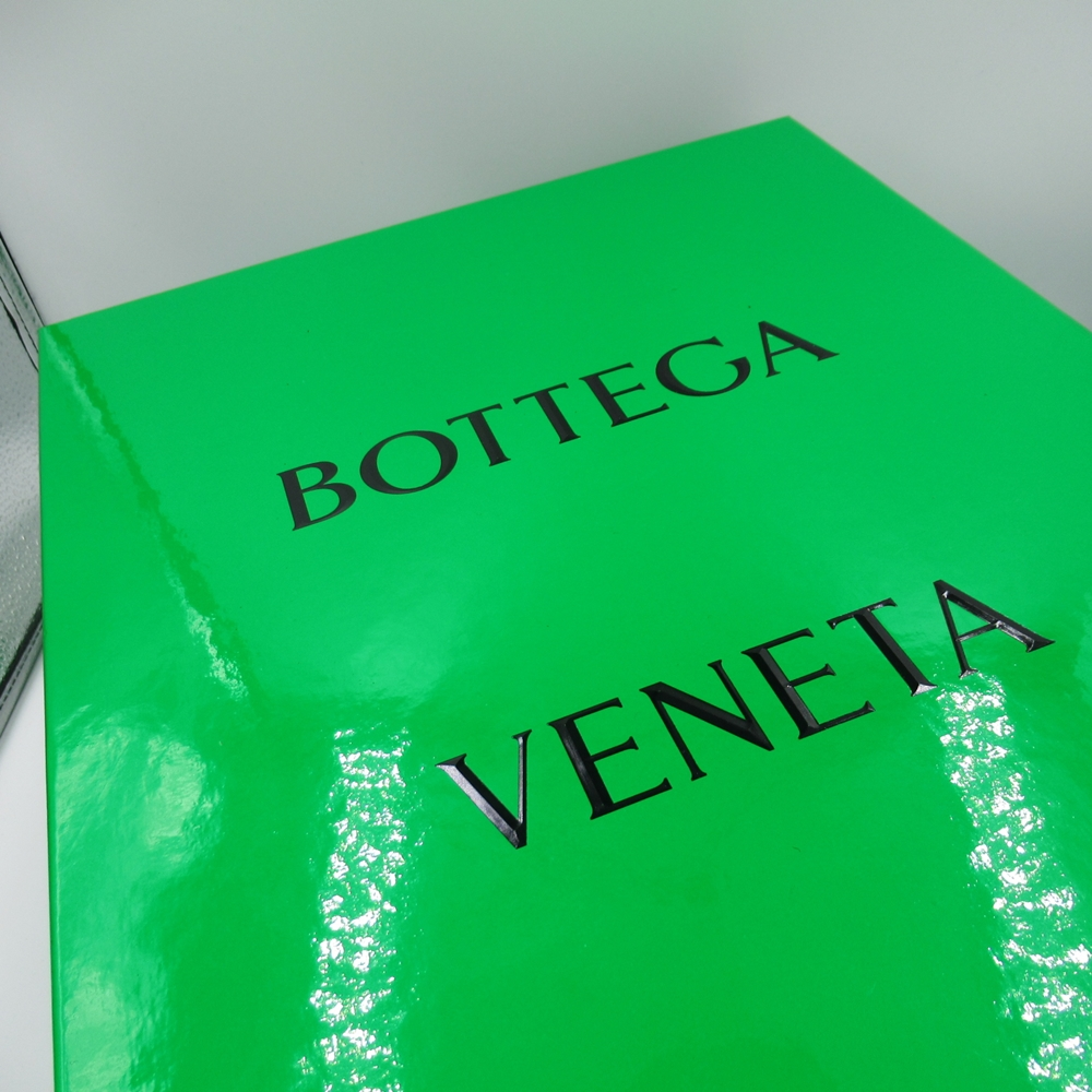 BOTTEGA VENETA 20aw THE STILT BLACK ボッテガヴェネタ ダービーシューズ ブラックSIZE-40 きよみ【中古】