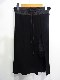 "SACAI LUCK サカイラック 15ss ""Elastic Waist Rib Knit Skirt"" Size-2 15SSLU874 ニット スカート レース スリット リブ"