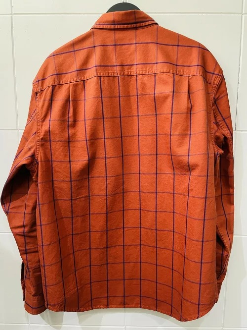 Supreme 20aw Twill Multi Pocket Shirt Mサイズ Orange シュプリーム ツウィルマルチポケットシャツ オレンジ 南堀江