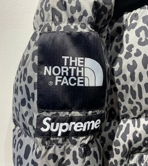 SUPREME THE NORTH FACE 11aw Nuptse Down Jacket Leopard Mサイズ シュプリーム ノースフェイス ヌプシ レオパードダウンジャケット 心斎橋