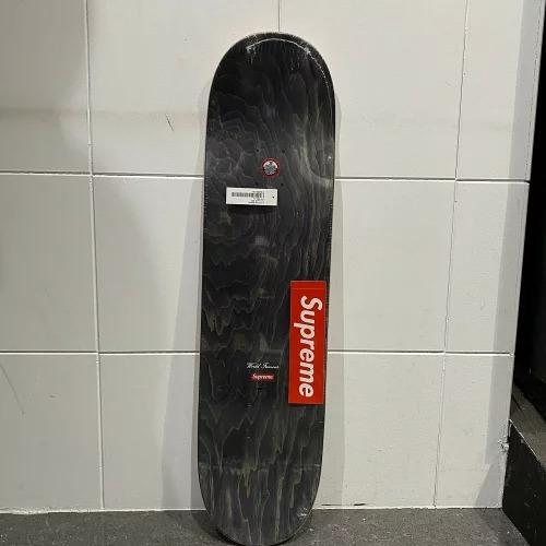 SUPREME 20ss Distored LOGO SKATEBORD シュプリーム ディストーテッドロゴ スケートボード デッキ 南堀江